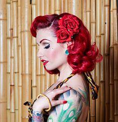 Breathtaking vintage rockabilly hairstyle ideas 5