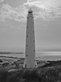 The Cape Wickham Lighthouse in Bass Strait