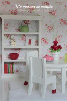 Ma maison de poupée - www.puregourmandise.com #dollhouse #DIY