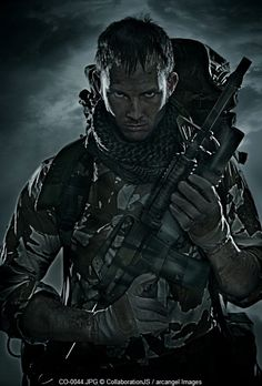 special forces soldier, © CollaborationJS / Arcangel Imagesimage  VISIT & FOLLOW FOR RED BEAUTY http://egerr8.tumblr.com/  http://www.pinterest.com/egerr8