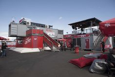 Shipping Container Homes: Pall Mall Hostel - Event Container Building by Artdepartment Berlin