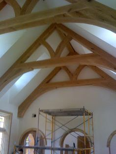 Best Vaulted Ceilings And Beams Images House Design Home Styles