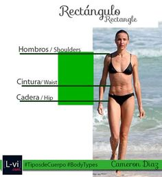 Tipos de Cuerpo Mujer: Rectángulo/ Women Body Types: Rectangle   L-vi.com by LuceBuona