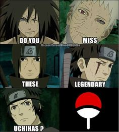 Yesssss!!!!!! Especially Itachi ♥️
