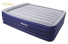 Bestway Night Right Queen Raised Air Bed Include Built-In Electric Pump and Pillow