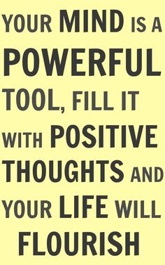 power of mind. Motivational quotes. Inspirational words.