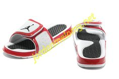2334b1c974c6 Air Jordan Hydro 2 Slide Slides Sandals Sandals White Red Black Slide  Sandals