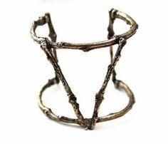 Bronze Twig Cuff