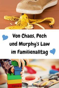 Von Chaos und Missgeschicken im Familienalltag mit Baby und Kleinkind, und was das mit Murphy's Law zu tun hat #LebenmitKindern #Familienalltag #Mamaalltag #Alltagschaos