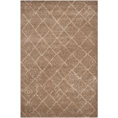 Tunisia Brown 4 ft. x 6 ft. Area Rug