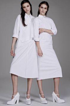 Creepily Perfect Twin Editorials : WSJ Magazine Spring/Summer 2014