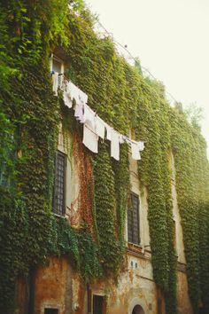 Laundry Day in Rome | Content in a Cottage