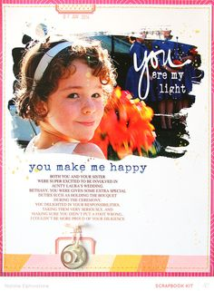 You Make Me Happy by natalieelph at @studio_calico - hybrid layout
