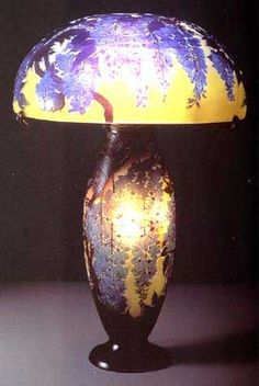 Émile Gallé (1846 - 1904) was a French artist who worked in glass, and is…
