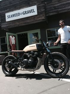 CB750 DOHC by Seaweed and Gravel
