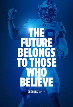 Sports Graphic Design, Sport Design, Graphic Design Posters, College Football Recruiting, Byu Football, Sports Graphics, Football Wallpaper, Poster Layout, Lock Screens