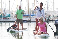 Totally inflatable, portable and nearly indestructible SUP board.