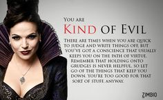 OMFG I AM REGINA aka THE EVIL QUEEN!!!!!!!!!! How Evil Are You?