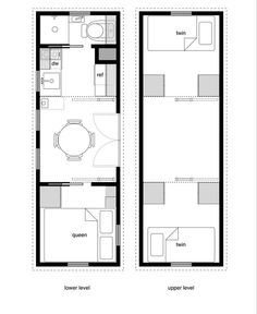 8 By 24 Foot Tiny House On Wheels Layout. Perfect For 2 Kids And  Hubby/myself! Park It On A Beautiful Piece Of Land.build A Porch. Little  Houses,tiny House ...
