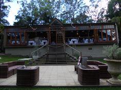 Outside of Eco Studio Fellini Brisbane Celebrant Neal Foster The Marriage Celebrant performs weddings here.