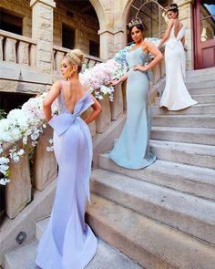 2017 Bridesmaid Dresses,Bow Bridesmaid Dresses,Spaghetti Straps Bridesmaid Dresses,Mermaid Bridesmaid Dresses, Fashion Bridesmaid Dress, PD00121