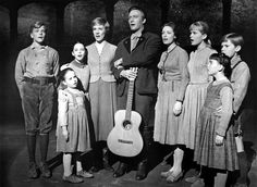 The Von trapp family!