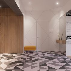 Creative Tiles For The Entryway
