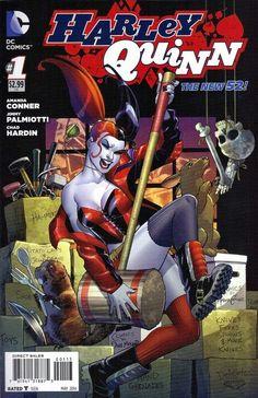 Harley Quinn #1 3rd Printing by Amanda Conner