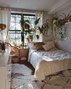 Room Ideas Bedroom, Small Room Bedroom, Bedroom Inspo, Modern Bedroom, Master Bedroom, Contemporary Bedroom, Decor Room, Bedroom Furniture, Master Suite