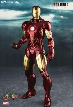 Iron Man 2: Iron Man Mark IV, Deluxe-Figur (voll beweglich) ... https://spaceart.de/produkte/irm034.php