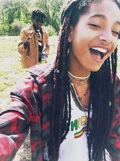 Willow Smith Dashing In Dreadlocks