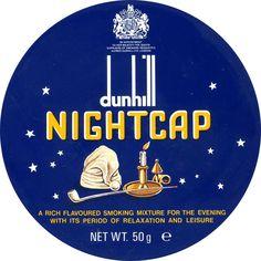 Pipe tobacco Dunhill Nightcap label