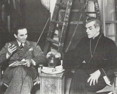 no big deal just Bela Lugosi and Boris Karloff having tea, do you think this is before or after the murder?