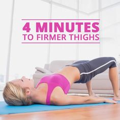 Workout Routines for Firm Thighs - this tabata workout will kick your booty!  #legworkouts #buttworkouts #firmthighs