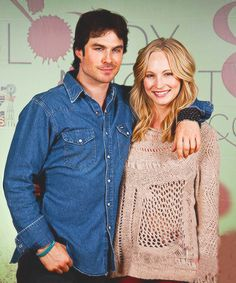 Candice Accola | Ian Somerhalder | The Vampire Diaries
