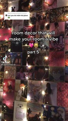 Indie Bedroom Decor, Bedroom Decor For Teen Girls, Indie Room, Teen Room Decor, Room Design Bedroom, Room Ideas Bedroom, Bedroom Inspo, Teen Life Hacks, Neon Room