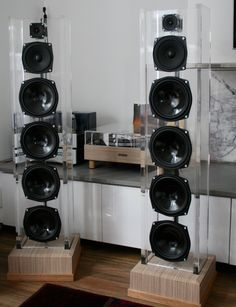 Acrylic speakers DIY For Sale http://www.ebay.com.au/itm/OPEN-BAFFLE-FLOOR-STANDING-ACRYLIC-SPEAKERS-/371441917042?ssPageName=STRK:MESE:IT