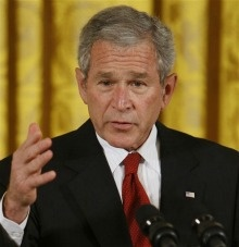 Sixty-eight percent of Americans — including 49 percent of Republicans — say President George W. Bush is responsible for the state of today's economy, a new Gallup poll finds.