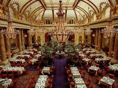 Palace Hotel, San Francisco Garden Court . . . Brunch or High Tea . . . A beautiful space in the City