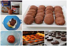 Biscotti velocissimi alla Nutella