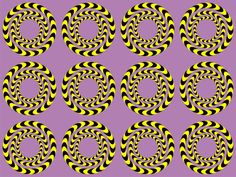 Fool your eyes with one of our cool optical illusions. Focus on the circles and see what illusions appear for you. Check back for daily illusions. Optical Illusions Pictures, Illusion Pictures, Illusion Kunst, Illusion Art, Eye Tricks, Mind Tricks, Op Art, Art Optical, Magic Eyes