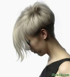Short Hairstyles Straight Hair Messy Bob Cut