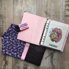 My lovely Planer filofax Domino soft pale pink #filofaxing filofaxing