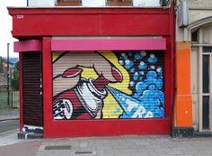 Street Art By ArtFlyMovie: CEPT - Street Artist with a Pop-Art Style