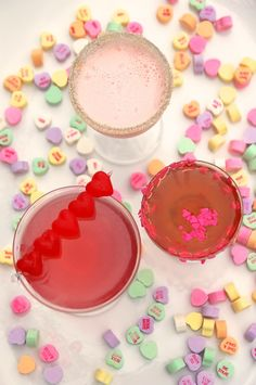 Sweet Drinks for Your Sweetheart