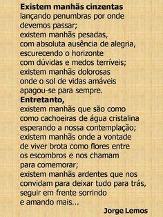 PURGATÓRIO DE TEXTOS: MANHÃS....