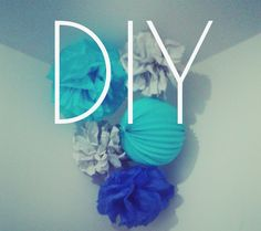 Tuto : Déco pompon en papier de soie | Mes tutos - Couture - Déco - Blog Maman Barcelone