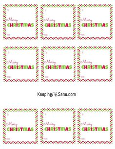 have you run out of christmas gift tags you can print these off right now for free and keep wrapping