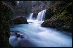 Winters' Return - Spirit Falls - by Dustin Gent