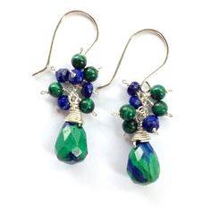 Hey, I found this really awesome Etsy listing at https://www.etsy.com/listing/250659220/green-malachite-and-blue-lapis-lazuli